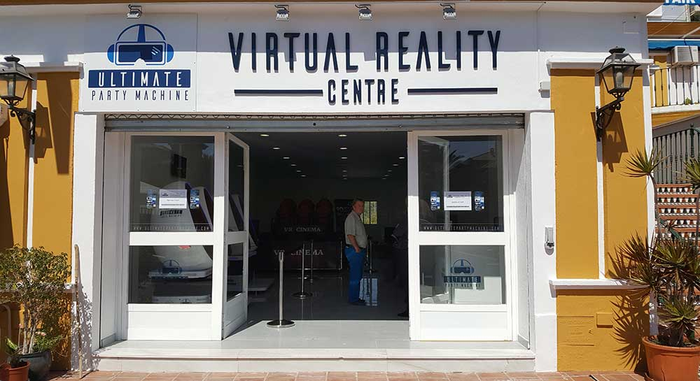 Where To Find our VR Experience Centre